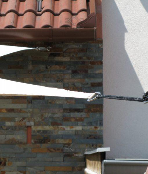 Árnyékoló ponyva, napvitorla vízlepergető anyagból