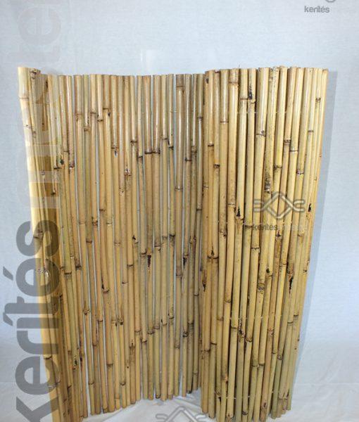 árnyékoló bambusz kerítés