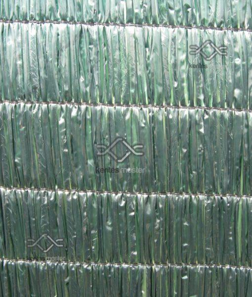 100 %-os vastag árnyékoló zöld színben korlátra