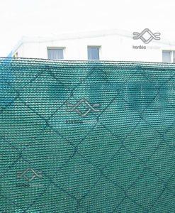 A belátást 95%-kal csökkentő belátásgátló, zöld árnyékoló háló kerítésre