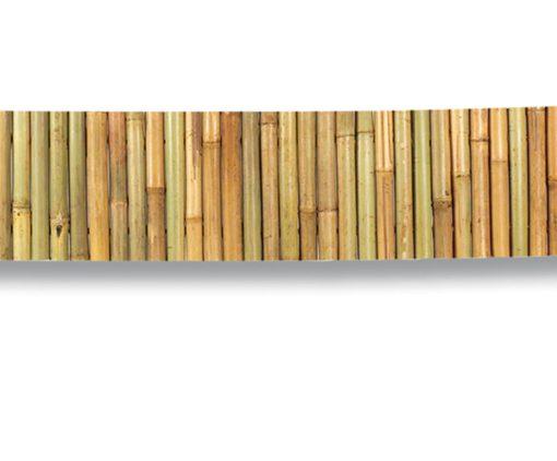 Bambusz virágágyás szegély