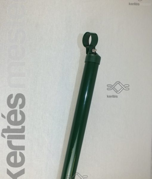 Cső támasztóoszlop zöld