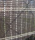 Dekoratív sötét barna színű árnyékoló háló, barna színű belátásgátló 80 %