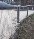 Erős horganyzott fém kerítésháló, drótkerítés árak (1)