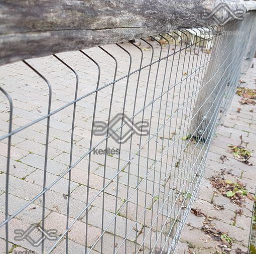 Erős horganyzott fém kerítésháló, drótkerítés árak