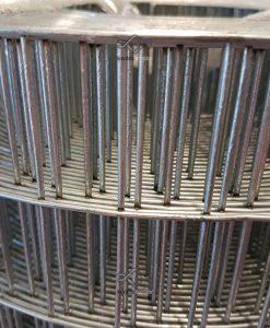 Erős horganyzott fém kerítésháló, drótkerítés 50,8 x 25,4 mm szemmérettel, 25 méteres árak