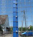 Erős horganyzott fém kerítésháló, drótkerítés 50,8 x 50,8 mm szemmérettel, 25 méteres árak (2)