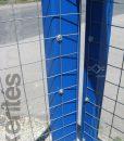 Erős horganyzott fém kerítésháló, drótkerítés 50,8 x 50,8 mm szemmérettel, 25 méteres árak (3)