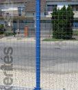 Erős horganyzott fém kerítésháló, drótkerítés 50,8 x 50,8 mm szemmérettel, 25 méteres árak
