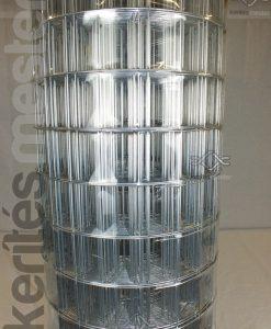Erős horganyzott fém kerítésháló, drótkerítés 50,8 x 76,2 mm szemmérettel, 25 méteres árak