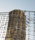 Fácán volier háló építése