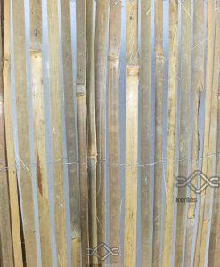Hasított bambusz árnyékoló kerítésre