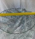 Horganyzott drótfonat tekercs átmérő