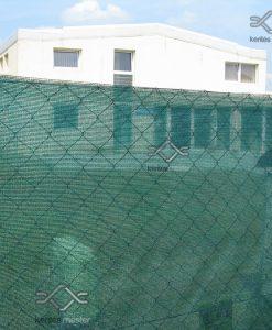 80 %-ban belátásgátló zöld árnyékoló háló
