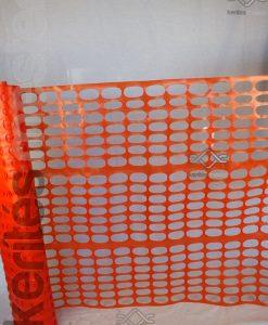 Ideiglenes gyors kerítés műanyag narancssárga