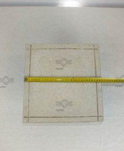 Kúpos beton fedkő pillérre szürke 30x30 cm ár