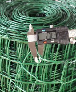 Kerti térelválasztó műanyag háló lyukméret 44x 44mm