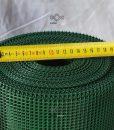 Kerti térelválasztó műanyag háló, lyukméret 5mm x 5mm, erkélykorlát, terazskorlát védőháló ár