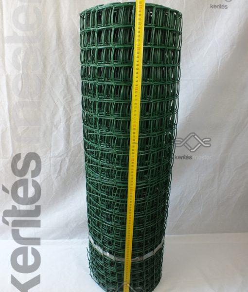 Kerti térelválasztó műanyag rács 44 x 44mm