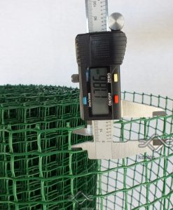 Kerti zöld térelválasztó műanyag négyszögletes rács