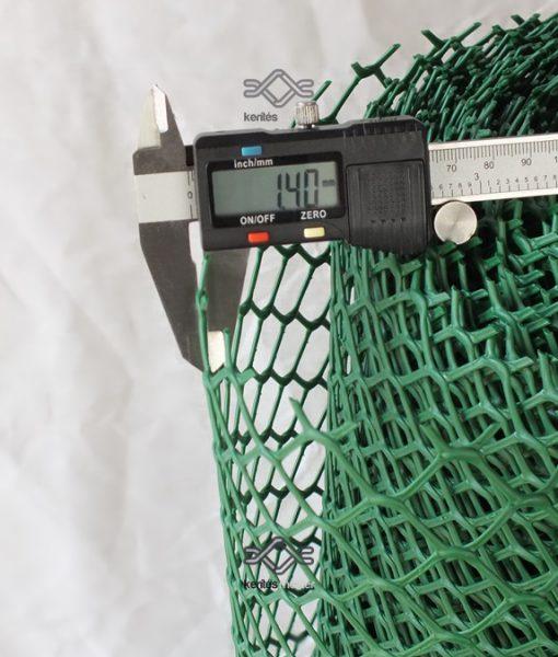 Műanyag baromfirács, műanyag csirkeháló rombusz szemforma ár