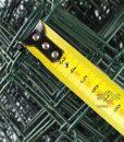 Műanyag drótfonat, sötétzöld pvc bevonattal (5)