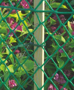 Műanyag háló, kerti rács