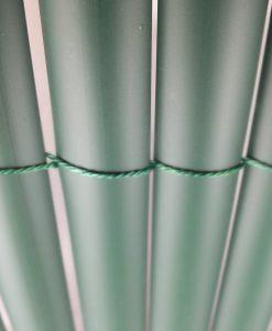 Műanyag nádszövet belátásgátló zöld színben, zöld műnád árnyékoló ár