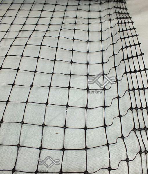 Műanyag volier háló sűrű
