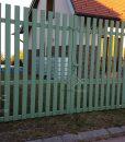 Madeira alumínium kerítés