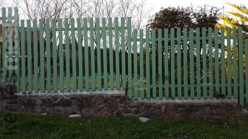Madeira alumínium kerítés (2)