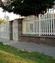 alumínium kapu és kerítés rendszer