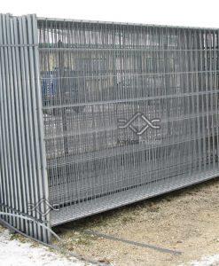 Mobil kerítés elem, táblás mobil kerítés