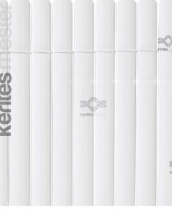 Ovális műnád kerítés ár, műanyag nádszövet kerítés ovális profillal, fehér színben