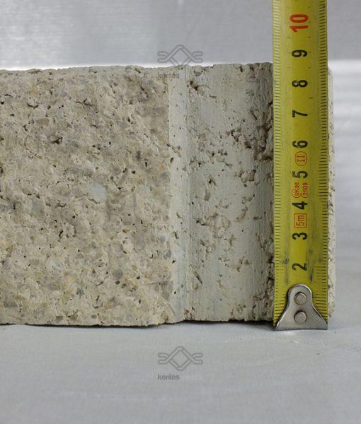 Pillér falazó beton elem fehér
