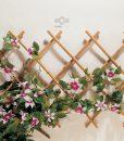 Virágfuttató apácarács bambuszból igényes ár