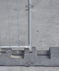műanyag talp mobil kerítéshez