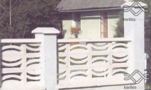Gandia kerítés mező falazó beton elem