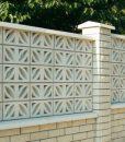 Gréta kerítés mező falazó beton elem