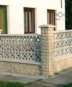 Ibéria elemes kerítés