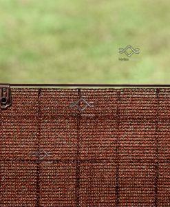 Rögzítő kapocs árnyékoló hálókhoz barna