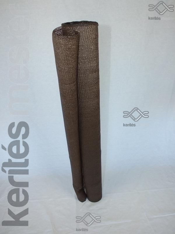 87e159e9ff 5 %-ban belátásgátló ár barna árnyékoló háló kerítésre, pergolára