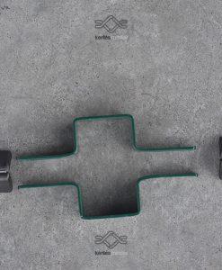 Táblás elemes kerítés köztes bilincs ár