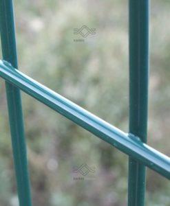 3D táblás elemes kerítés 4 mm huzal, zöld Ral 6005 színben ár