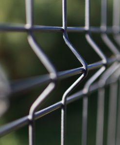 3D táblás elemes kerítés 5 mm huzal 83 cm magas