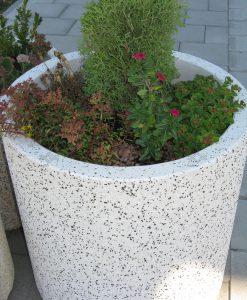 Beton virágtartó dézsa, virágtartó beton dézsa ár
