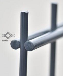 Táblás kerítés 2D 6-5-6