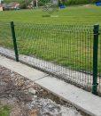 Táblás kerítés 100 cm magas Ral 6005 zöld ár