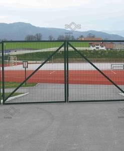 Kétszárnyú kerítés kapu