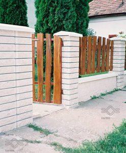 Ombrello fehér kerítés fedlap